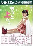【田島芽瑠】ラブラドール・レトリバー AKB48 37thシングル選抜総選挙 劇場盤限定ポスター風生写真 HKT48チームH