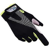 クラシックシンプルなデザインのメンズスポーツ手袋滑り止めスポーツ手袋 - A2