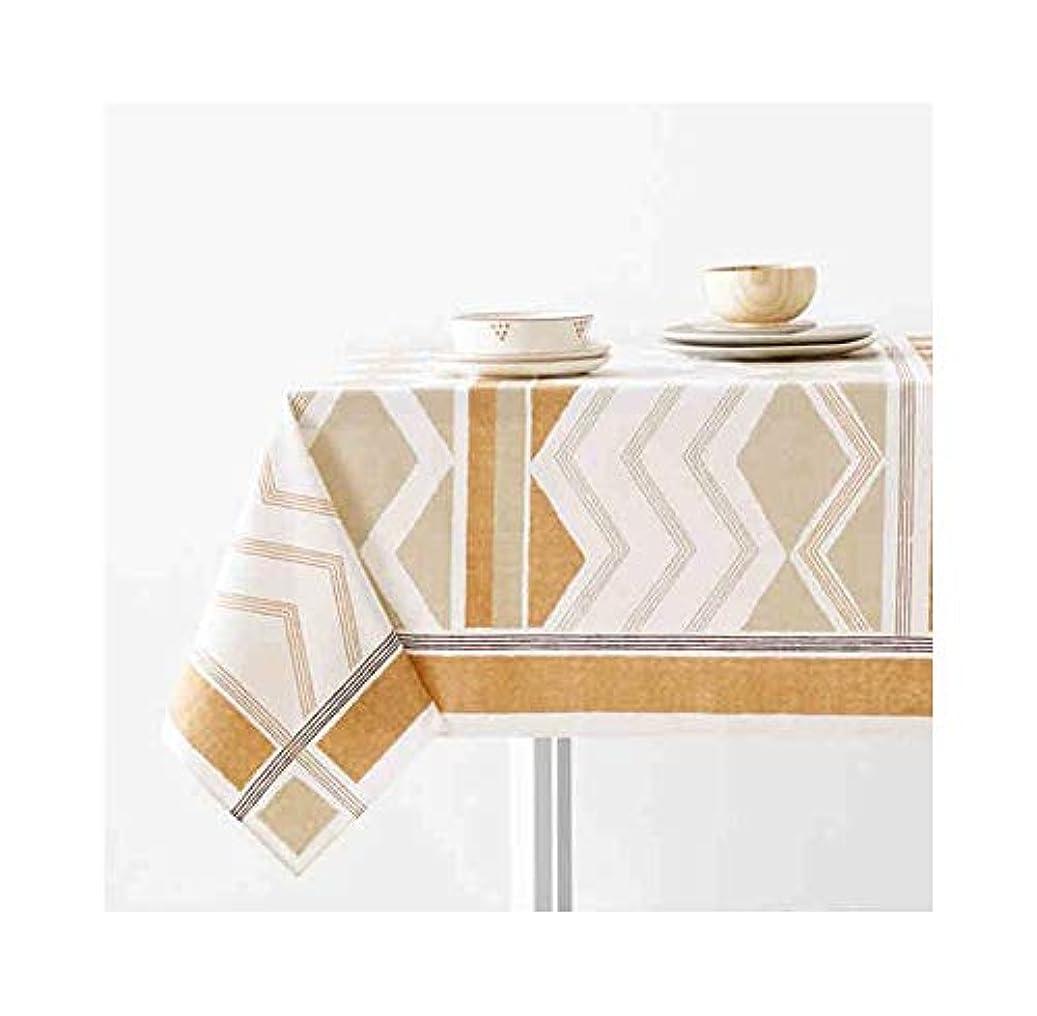 略奪散歩ゆでる幾何学模様のテーブルクロス印刷綿長方形ホームテーブルクロスコーヒーテーブルマット LUYIYI