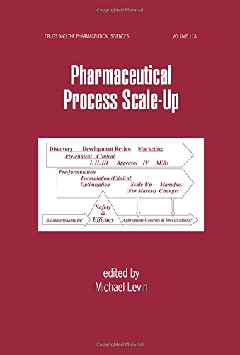 Download Pharmaceutical Process Scale-Up (Drugs and the Pharmaceutical Sciences) 0824706250