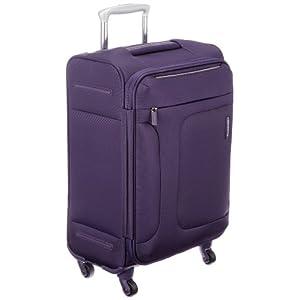 [サムソナイト] SAMSONITE ASPHERE/アスフィア スピナー55 (55cm/39L/2.4Kg) (スーツケース・ソフトケース・トラベル・機内持込サイズ・軽量・大容量・エキスパンダブル・TSAロック装備・保証付) 72R*50001 50 (パープル)