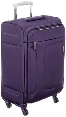 [サムソナイト] SAMSONITE ASPHERE / アスフィア スピナー55 (55cm/39L/2.4Kg) (スーツケース・ソフトケース・トラベル・機内持込サイズ・軽量・大容量・エキスパンダブル・TSAロック装備・保証付) 72R*50001 50 (パープル)