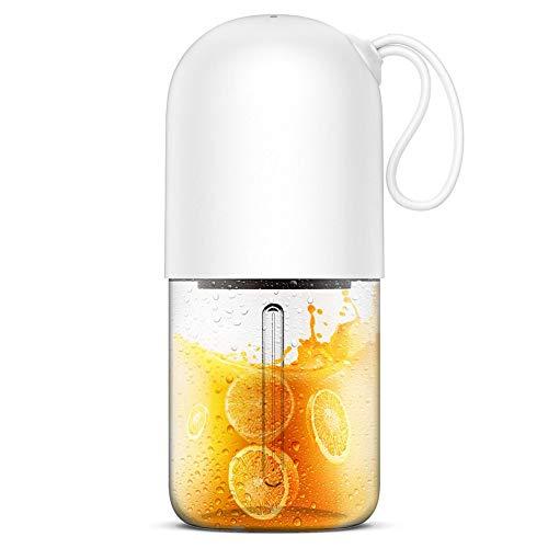 ジュース機、家庭用フルーツ小充電ミニ揚げジューサー、ジュース...