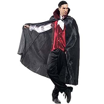 Cuteshower ハロウィン バンパイア 吸血鬼 コスプレ コスチューム ヴァンパイア ロード 衣装 ドラキュラ 仮装 男性用