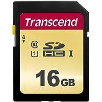 Transcend SDHCカード 16GB MLC UHS-I Class10 TS16GSDC500S