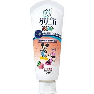 クリニカKid'sハミガキ ピーチ 60g (医薬部外品)