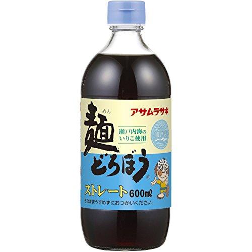 アサムラサキ 麺どろぼう ストレート(600mL)