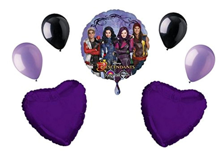 Disney Descendants誕生日パーティーキットバルーンパック