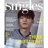韓国雑誌 Singles(シングルズ)2017年 3月号 (EXO-CHEN 表紙/画報,記事掲載)