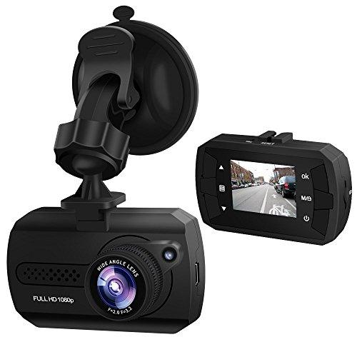 ドライブレコーダー 1080PフルHD 1200万画素 1.5インチ 140°広視野角 1年保証 常時録画 衝撃録画 駐車監視 高速起動 WDR LED信号機対