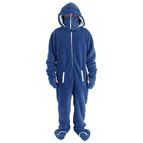 BIBILAB(ビビラボ) 着る毛布 ニュータイプ着る毛布 ダメ着 ネイビー Lサイズ 2017モデル HFD-L-NVY