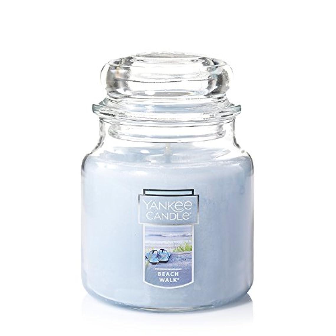 分数群衆レンダリングYankee Candle Beach Walk Large Jar 22oz Candle Small Jar Candles ブルー 1129793