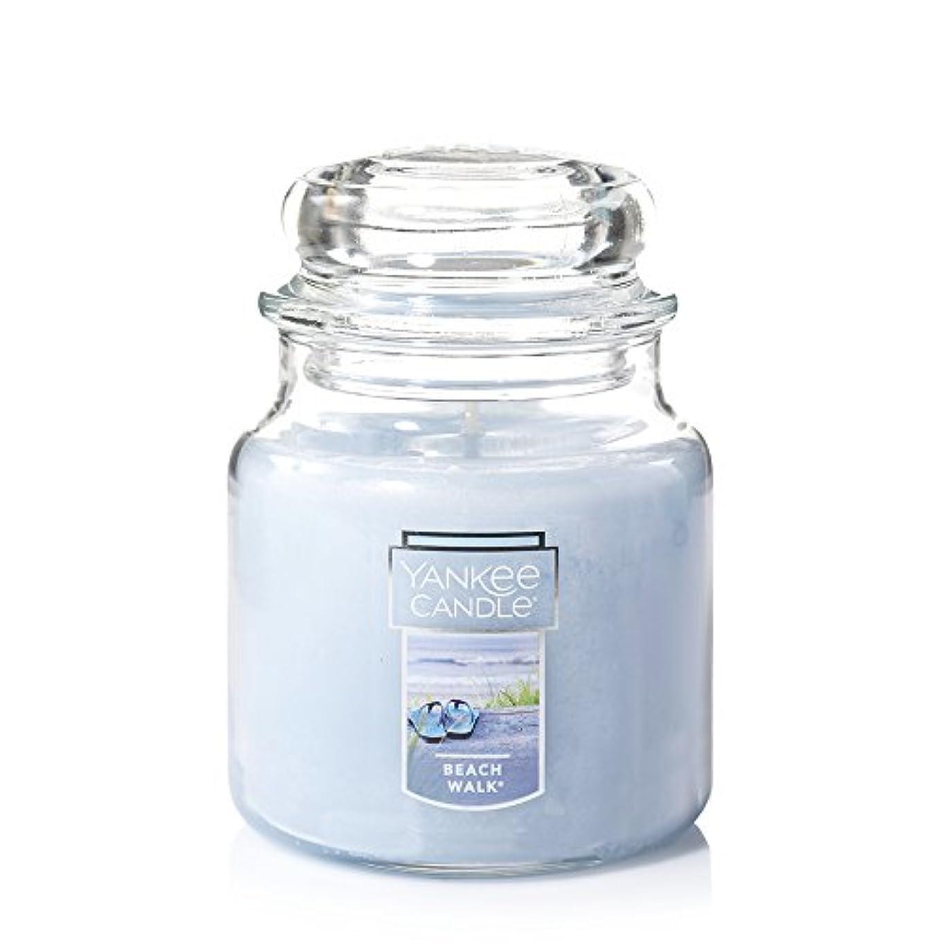 不平を言う奨学金光のYankee Candle Beach Walk Large Jar 22oz Candle Small Jar Candles ブルー 1129793