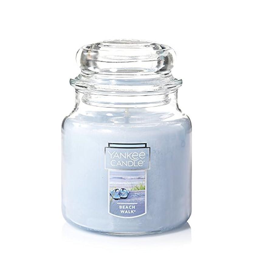 祖父母を訪問凍結体現するYankee Candle Beach Walk Large Jar 22oz Candle Small Jar Candles ブルー 1129793
