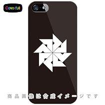 家紋シリーズ 四つ目車 (よつめぐるま) (クリア) / for iPhone SE/5s/SoftBank