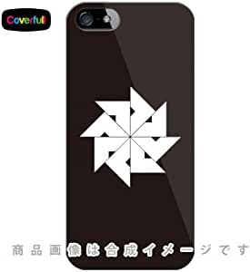 家紋シリーズ 四つ目車 (よつめぐるま) (クリア) / for iPhone SE/5s/docomo