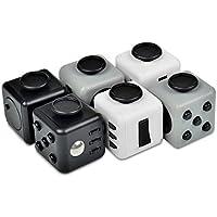 XeYOU Fidget Cube (フィジェットキューブ)ストレス解消キューブ Relievesストレスと不安の子供と大人 おもちゃ ポケットゲーム 不安 緊張 リリーフ ルービックキューブ (白)