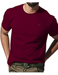 J.STORE (ジェイストア) Tシャツ メンズ 半袖 ワンポイント 刺繍 クルーネック シンプル