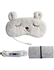 Aroma Season 蒸気でホットアイマスク USB電熱式 ドライアイ 眼瞼炎 疲れ目を緩和 リラックス(ウサギ)