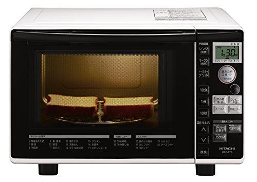日立 オーブンレンジ 18L ターンテーブル ヘルシーメニュー スピード調理 トーストオート機能 MRO-RT5 W