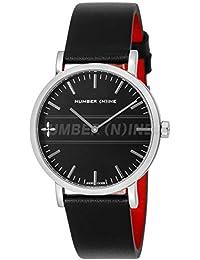 [エンジェルクローバー]Angel Clover 腕時計 NUMBER(N)INE ブラック文字盤 NNR40SBKBK メンズ