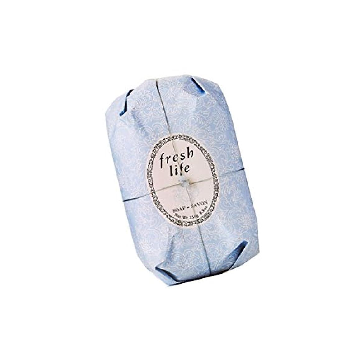 権利を与える矛盾作詞家Fresh フレッシュ Life Soap 石鹸, 250g/8.8oz. [海外直送品] [並行輸入品]