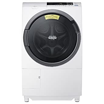 BD-S3800L(W) ピュアホワイト ヒートリサイクル 風アイロン ビッグドラム スリム
