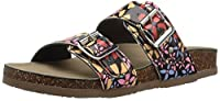 Madden Girl Women's Brando-J Slide Sandal Bright Multi 6 M US [並行輸入品]