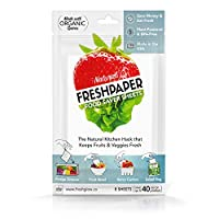 Fenugreen FreshPaper 青果物保護シート (1 パッケージ 8 枚入り)