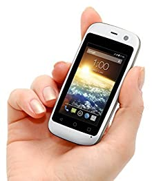 "POSH Micro X S240b - 2.4"", 4G, Android 4.4 Kit Kat, Dual-core, 4GB , 2MP Camera, Ultra Compact, Micro-size UNLOCKED Smartphone (White) by Posh Mobile [並行輸入品]"