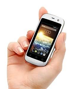 "POSH Micro X S240b - 2.4"", 4G, Android 4.4 Kit Kat, Dual-core, 4GB , 2MP Camera, Ultra Compact, Micro-size UNLOCKED Smartphone (White) by Posh Mobile [並行輸入品]"