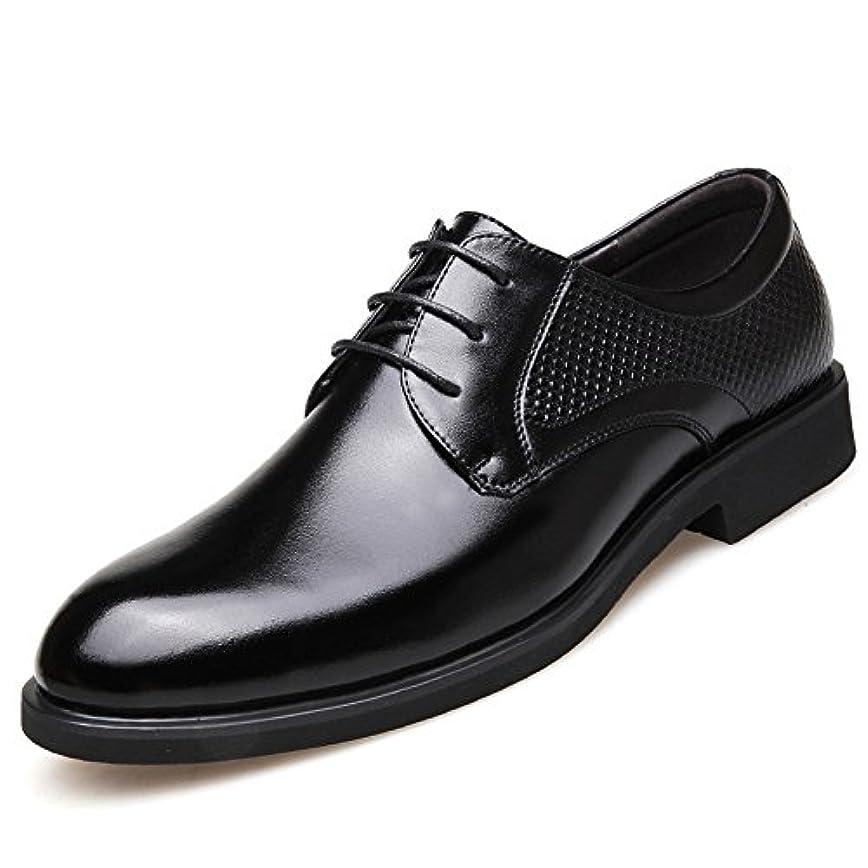 男歯車宗教HIMAWARI ビジネスシューズ メンズ 本革 革靴 レースアップ リーガル 紳士靴 オールシーズン 靴 透湿 防滑 軽量