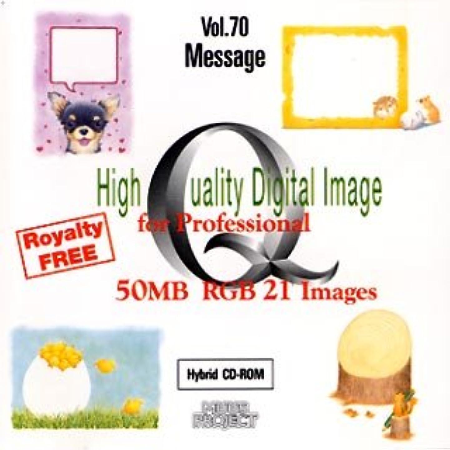 センサー昼間多分High Quality Digital Image for Professional Vol.70 Message