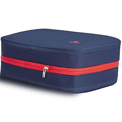 Aolfay 便利旅行圧縮バッグ 2019年最新の 圧縮バッグ 衣類圧縮バッグ ファスナー圧縮で衣類スペース50%節約 軽量 出張 旅行 乾湿分離 衣類 タオル 水着 シューズ 可変スペース便利グッズ