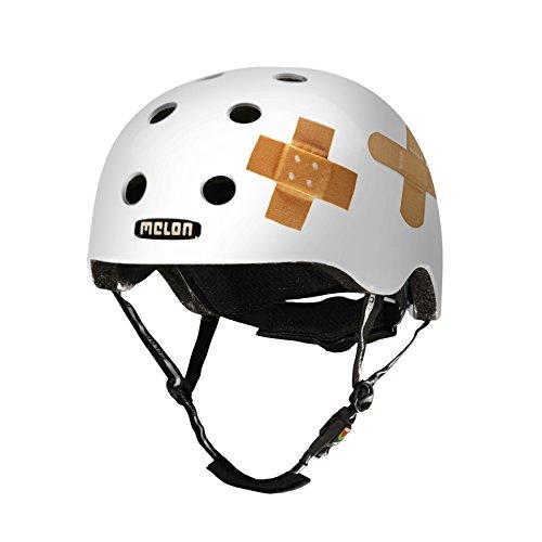 幼児・キッズ用軽量ヘルメット XXS-XSサイズ 46-52cm [マグネット式バックル、ダイヤル式アジャスター] プラスタードホワイト