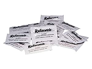 Radiacwash Towelettes for Radiation Exposure Decontamination - Pack of 100 by NBCPrep