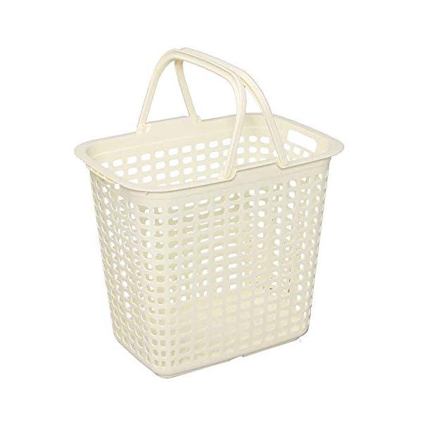 アイリスオーヤマ ランドリーバスケット アイボリ...の商品画像