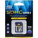 Team UHS-I SDカード 16GB TG016G0SD3FT