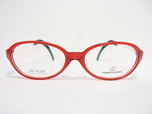 TOMATO GLASSES トマトグラッシーズ 子供用メガネ TKAC15(kidsA) 43mm 【ズレ落ちない】【鼻パット調整】【テンプル調整】