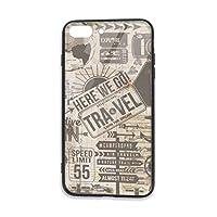 Art Of Pictorial IPhone8 Plus ケース Iphone7 Plus カバー TPU 強化ガラスケース かわいい おしゃれ 薄型 スマホケース 擦り傷防止 耐衝撃保護