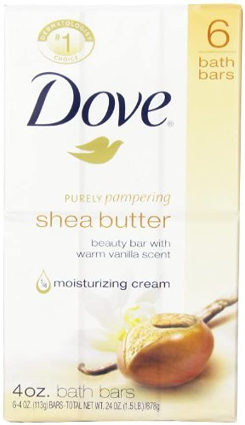 不適かんたん初心者Dove 栄養ケアシアバターモイスチャライジングクリームビューティーバー、24オンス - ケースあたり12。