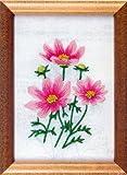 フランス刺繍キット No54 コスモス (15cm×11cm)