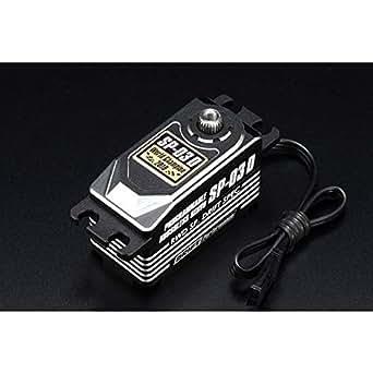 SP-03D デジタル プログラマブルサーボ(ロープロ/ブラシレス)ブラック