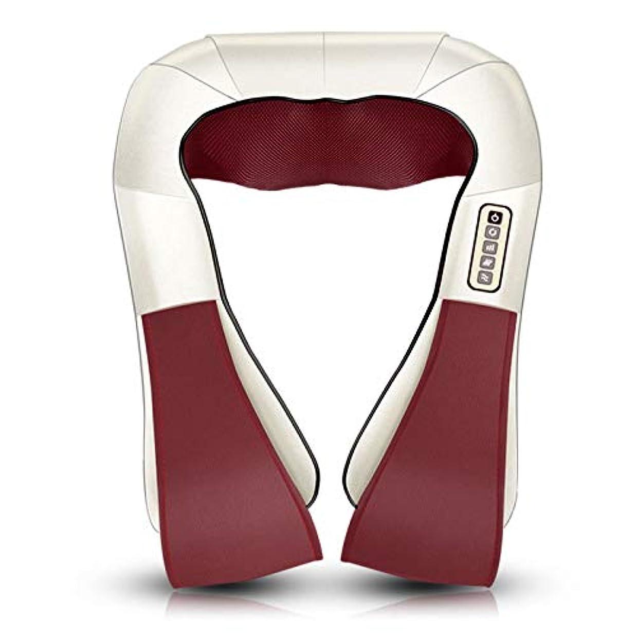周辺推進学期ディープニーディング、ディープティッシュ3Dニーディングピロー、首と肩の指圧背中と首のマッサージャーで筋肉痛を和らげます