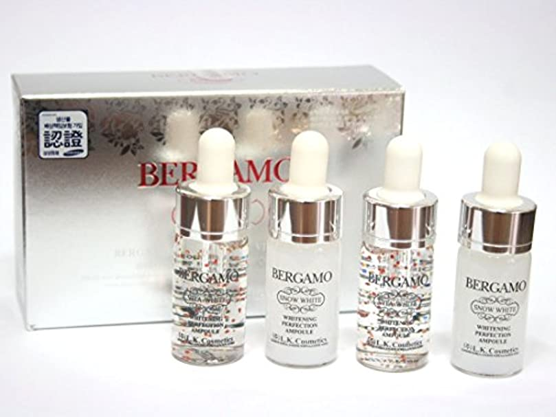 BERGAMO / スノーホワイト&ヴィータホワイトニング完璧アンプル13ml * 4EA / Snow White & Vita Whitening Perfection Ampoule 13ml * 4EA / 韓国化粧品...