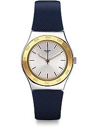 [スウォッチ]SWATCH 腕時計 Irony Medium (アイロニーミディアム) BLUE PUSH YLS191 レディース 【正規輸入品】