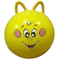 赤ちゃん漫画バウンドボール – ボールおもちゃインフレータブルCartoon Animal Jumping Bounce応力Yoga Health CareおもちゃPVC猫耳形状バランスボールキッズ幼児の男の子と女の子