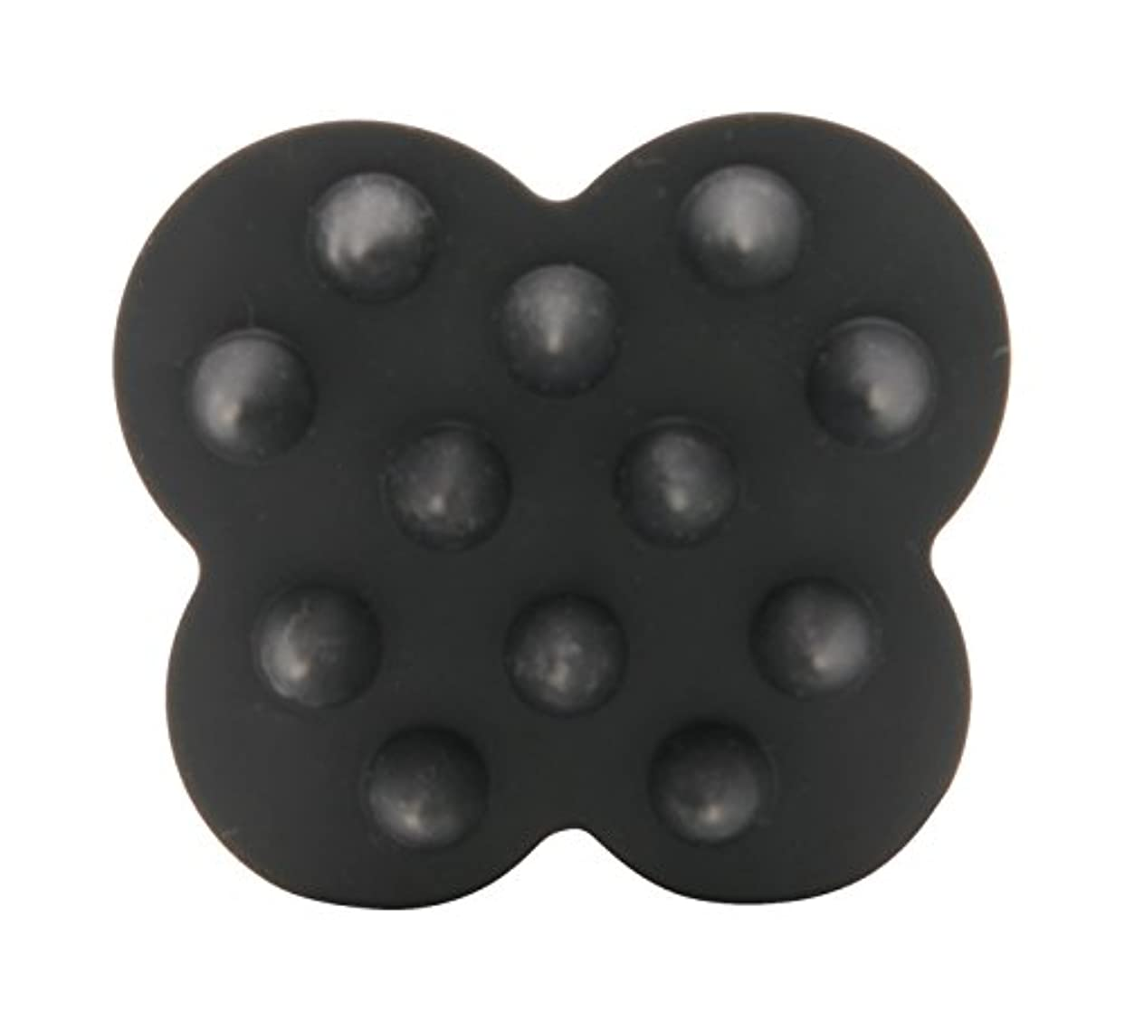 お風呂アラビア語サスペンションウカ(uka) ウカ スカルプブラシ ケンザン(頭皮用ブラシ) 黒 70g
