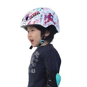 ラングスジャパン(RANGS) ラングスジュニアスポーツヘルメット ホワイト