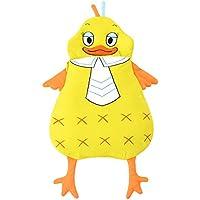 Tortor 1bacha(JP) 可愛い 黄色 鴨 ベビー 赤ちゃん 寝袋 コットン95% ソフト シュラフ 寝具 新生児 柔らかい 布団 お出かけ 出産祝い 誕生日 プレゼント (105cm)
